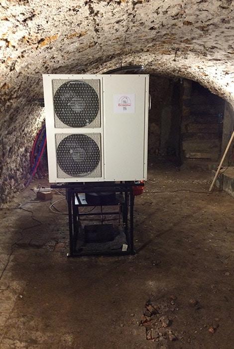 geothermie sur cave | Performance pompe à chaleur Econopac.fr